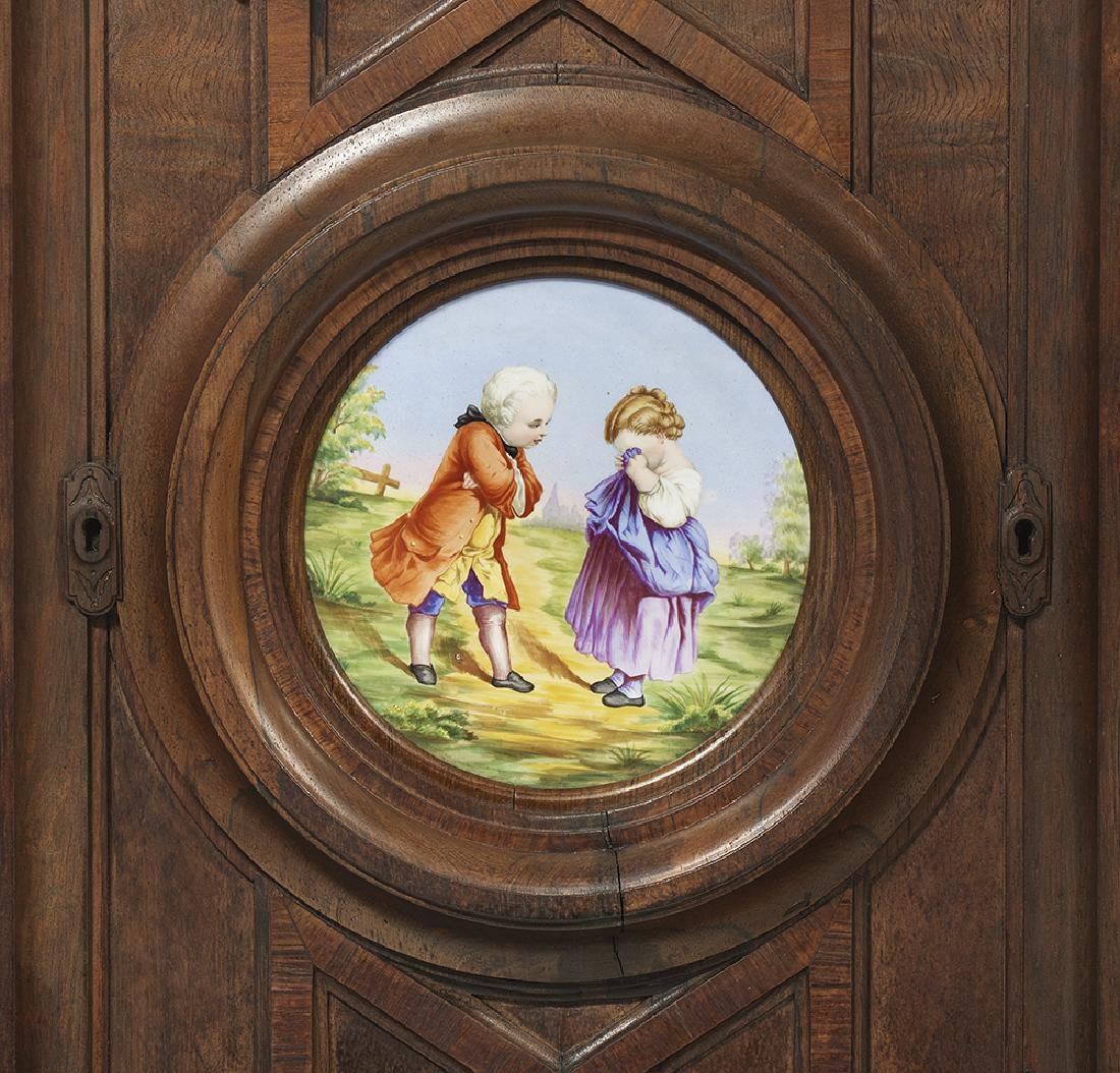 Renaissance Revival Rosewood Cabinet - 4