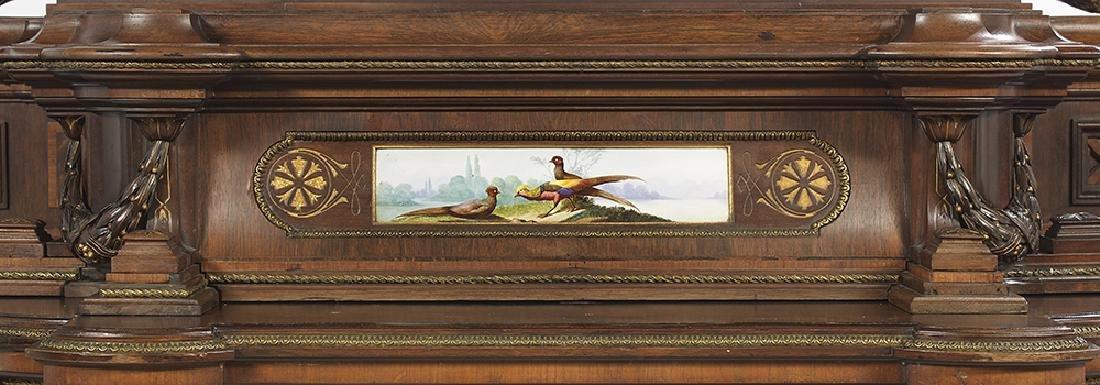 Renaissance Revival Rosewood Cabinet - 5