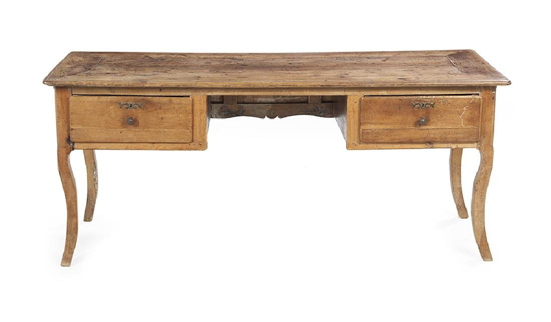 French Provincial Fruitwood Desk