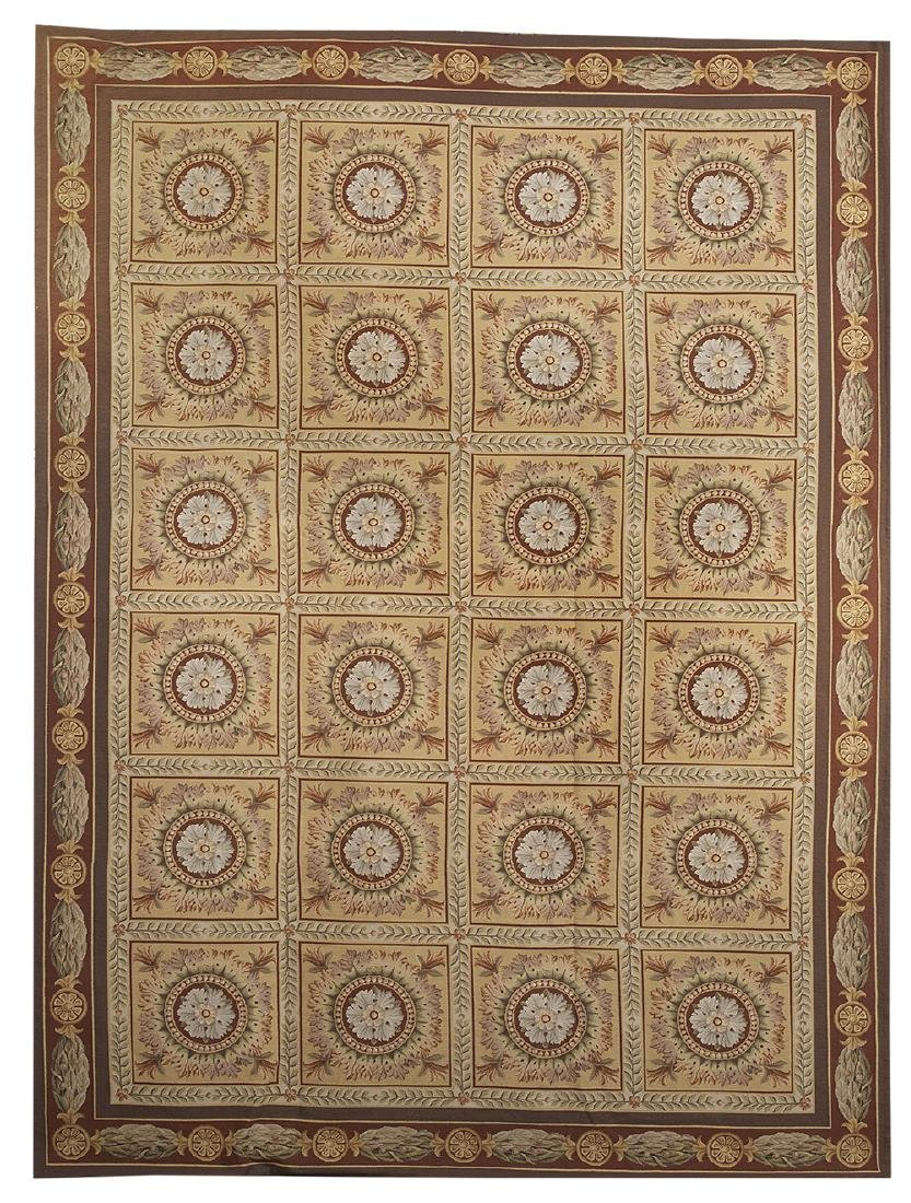 Louis XV-Style Needlepoint Carpet