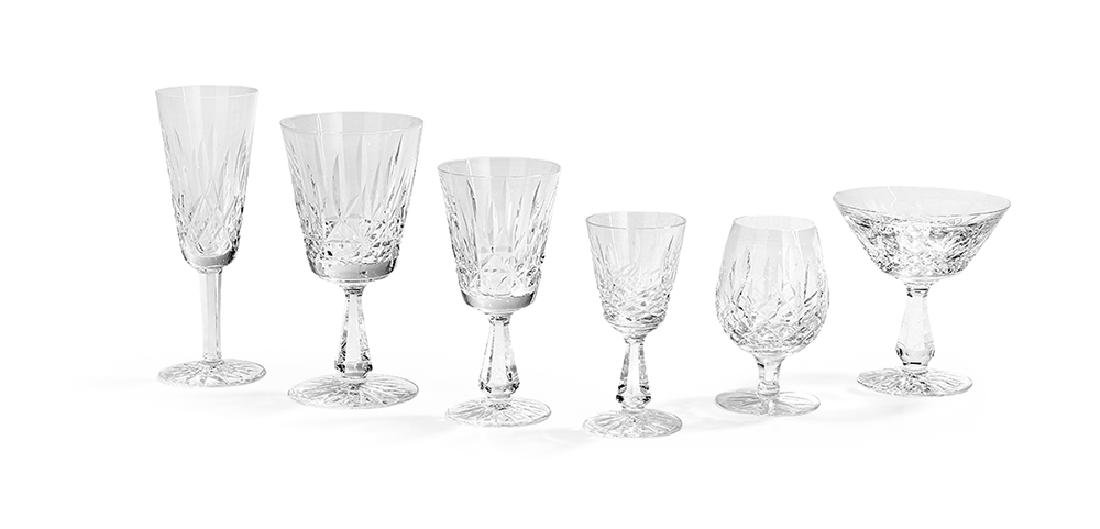 41 PIeces of Waterford Crystal Stemware