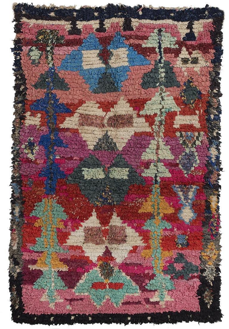 Semi-Antique Moroccan Carpet