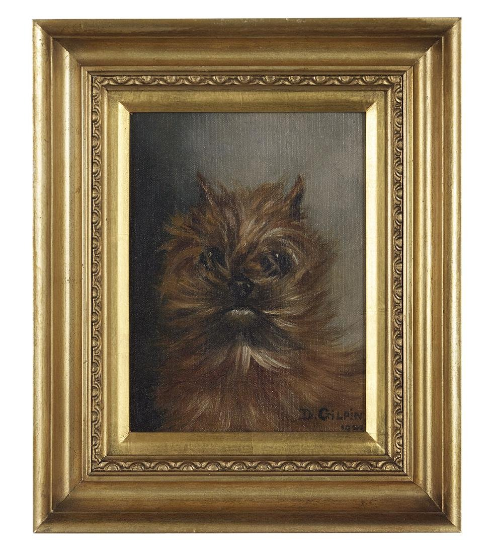 Two British Paintings of Dogs