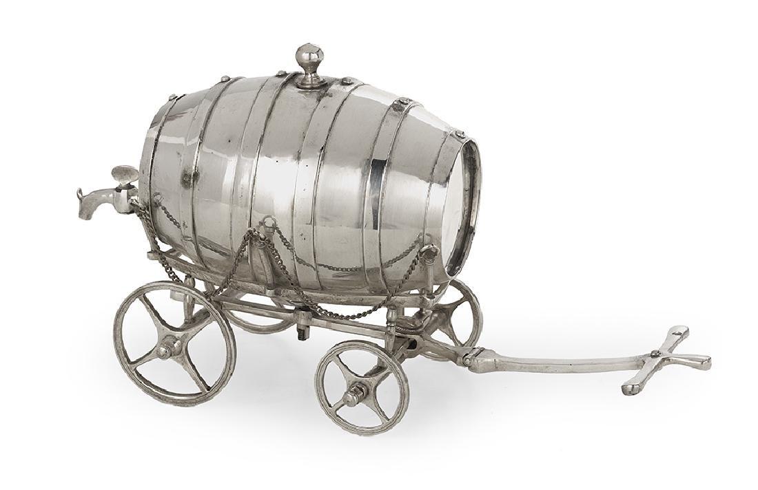 Silverplate Whiskey Trolley