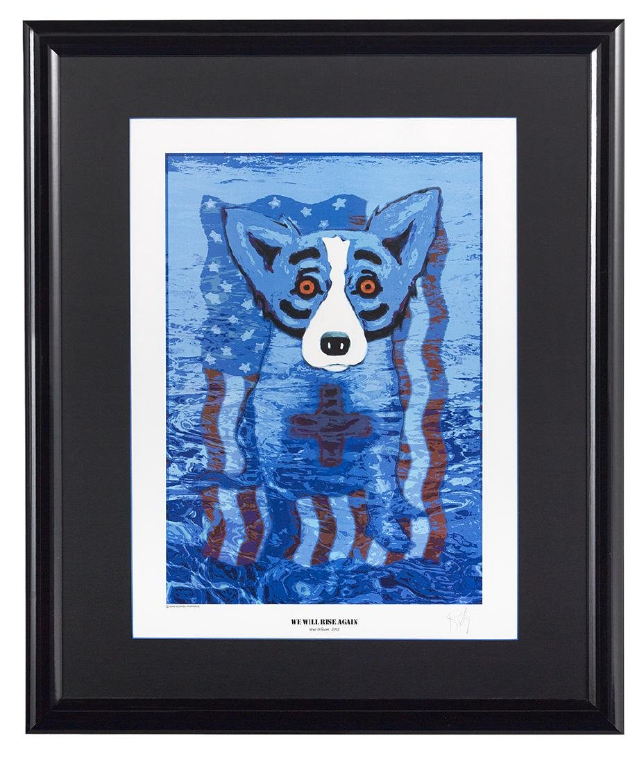 George Rodrigue, (American/Louisiana, 1944-2013)