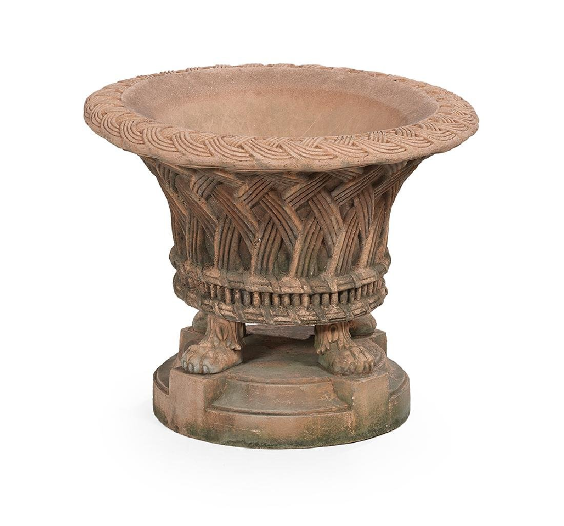French Empire-Style Terracotta Planter