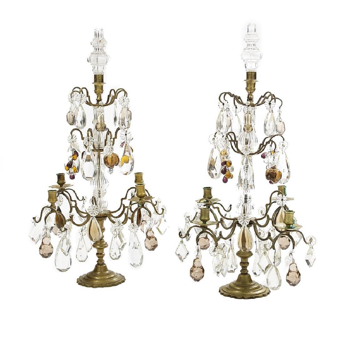 Pair of Louis XIV-Style Candelabra