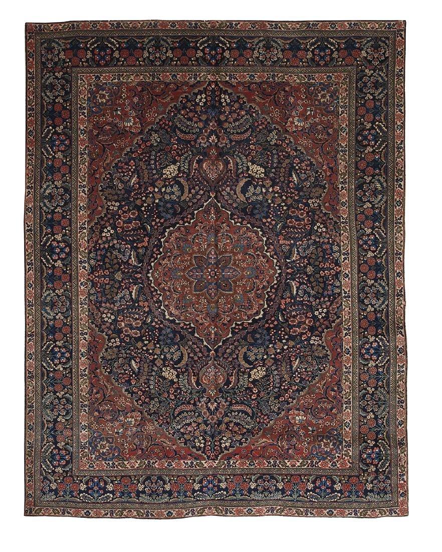 Semi-Antique Mashad Carpet