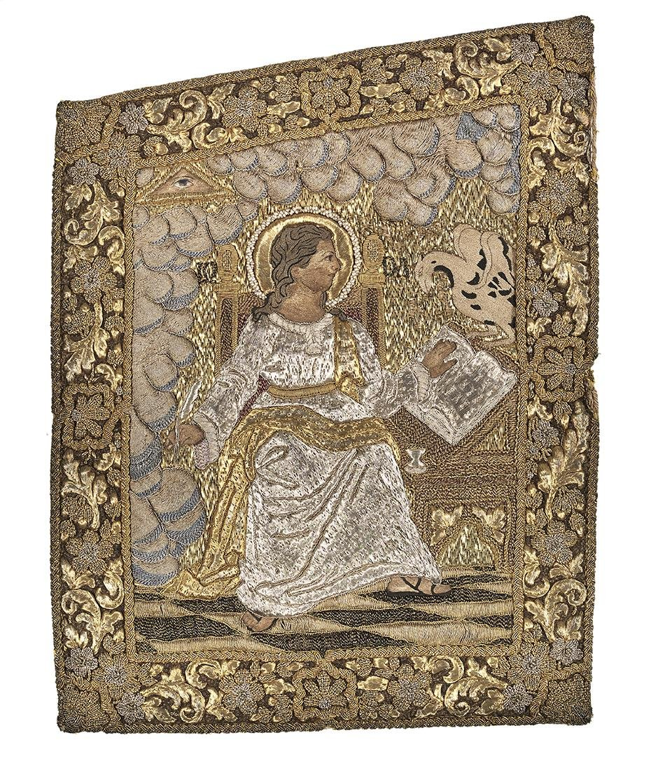 Goldwork Embroidery Panels of the Evangelists - 2