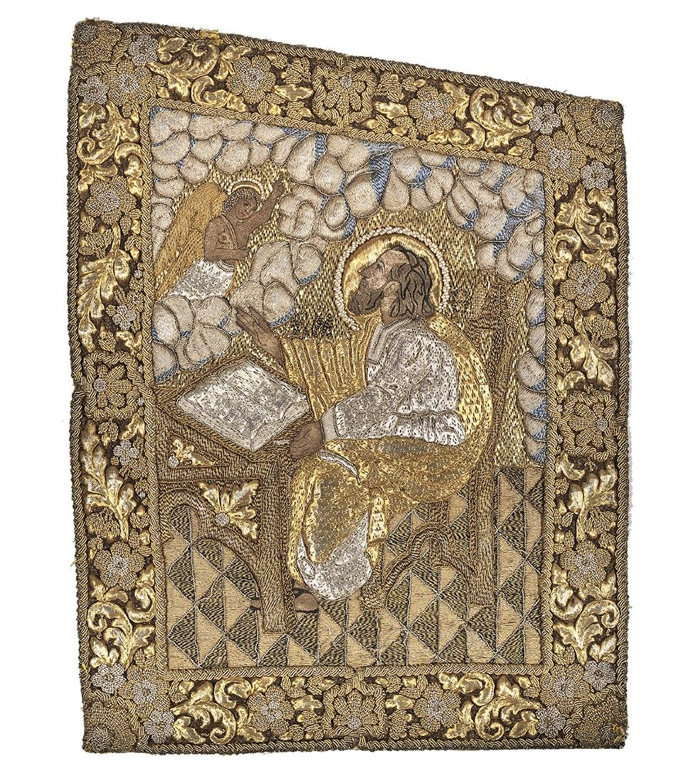 Goldwork Embroidery Panels of the Evangelists - 3