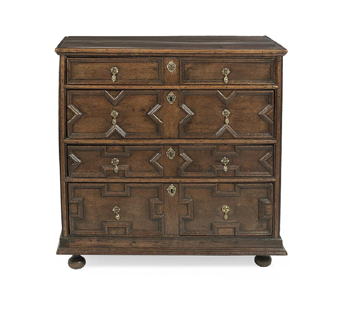 Jacobean-Style Oak Chest