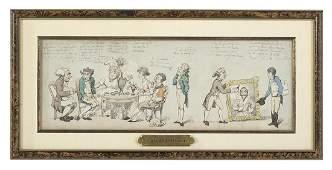 Attr. to Thomas Rowlandson (British, 1756-1827)