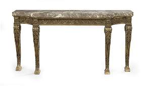 Louis XVXVIStyle MarbleTop Console Table