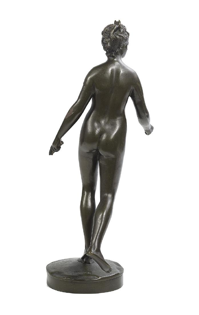 "French Patinated Bronze of ""Diane Chasseresse"" - 2"