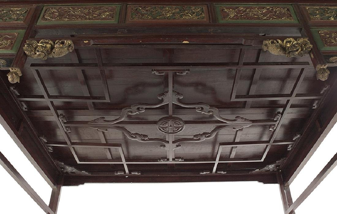 Chinese Hardwood Opium Bed - 4