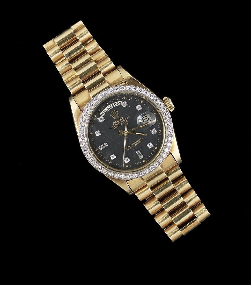 Rolex Day-Date Wrist Watch