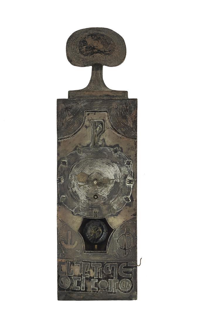 "Lorenzo Burchiellaro ""Wanduhr"" Metal Wall Clock"