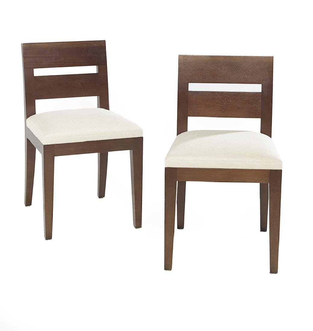 """Pair of Christian Liaigre """"Archipel"""" Side Chairs"""