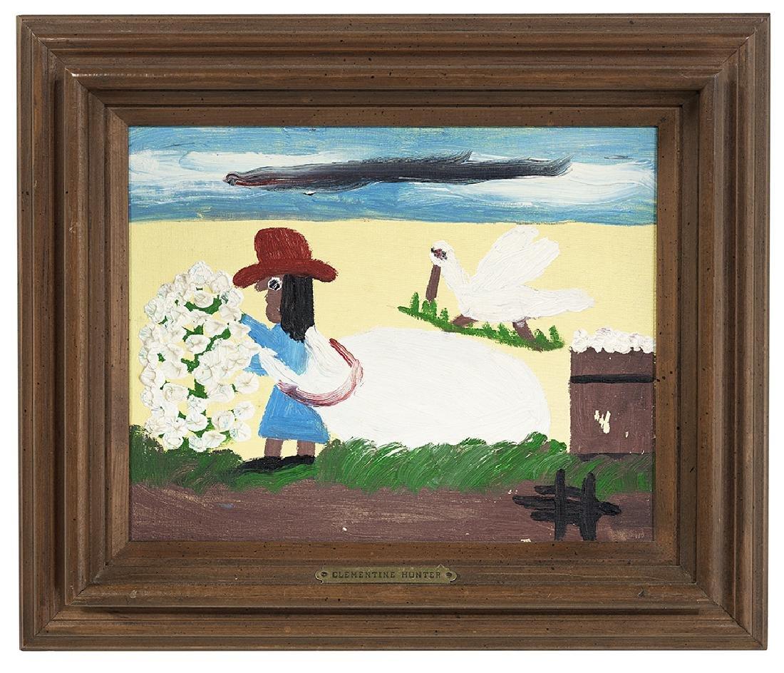 Clementine Hunter (US/Louisiana, 1886/87-1988)