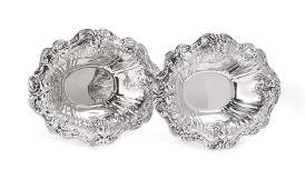 Pair of Francis I Sterling Vegetable Dishes