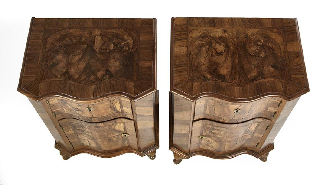 Pair of Italian Walnut Cupboards - 2
