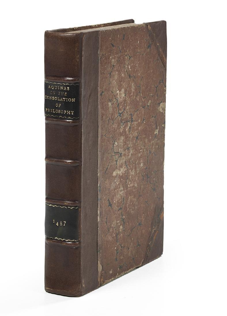 Boethius (ca. 480-524), Consolatione Philopsophiae, - 3