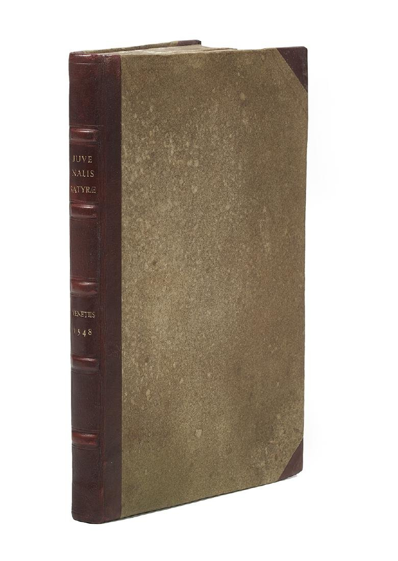 Juvenal (Fl. Late 1st/Early 2nd Century), Satires, 1548 - 2