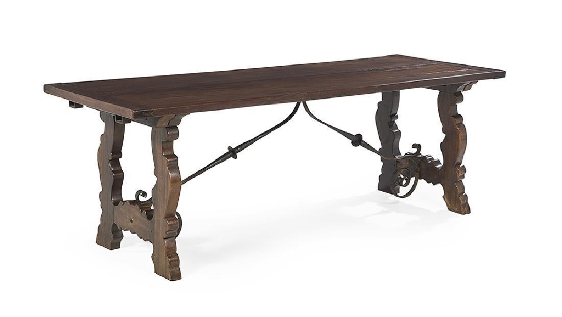 Spanish Mahogany Guard Room Table