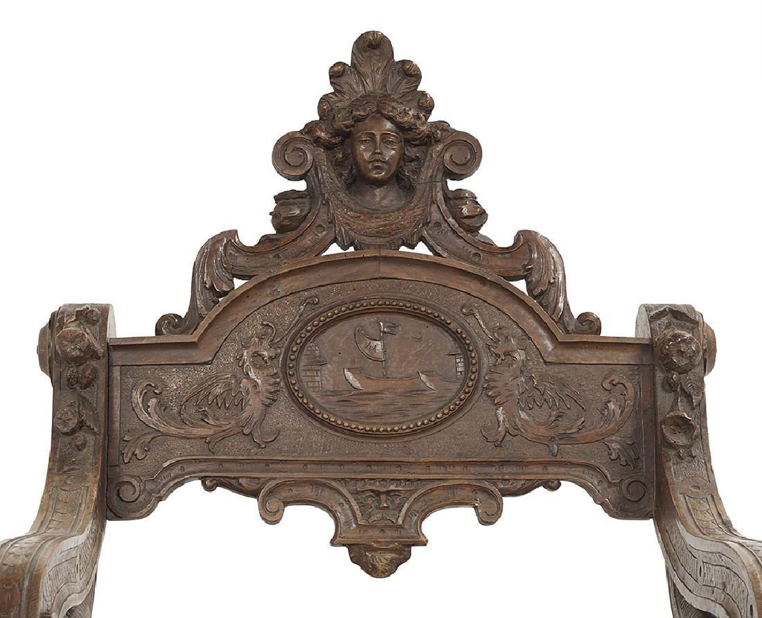 Italian Renaissance Revival Carved Fruitwood Fantasy - 2