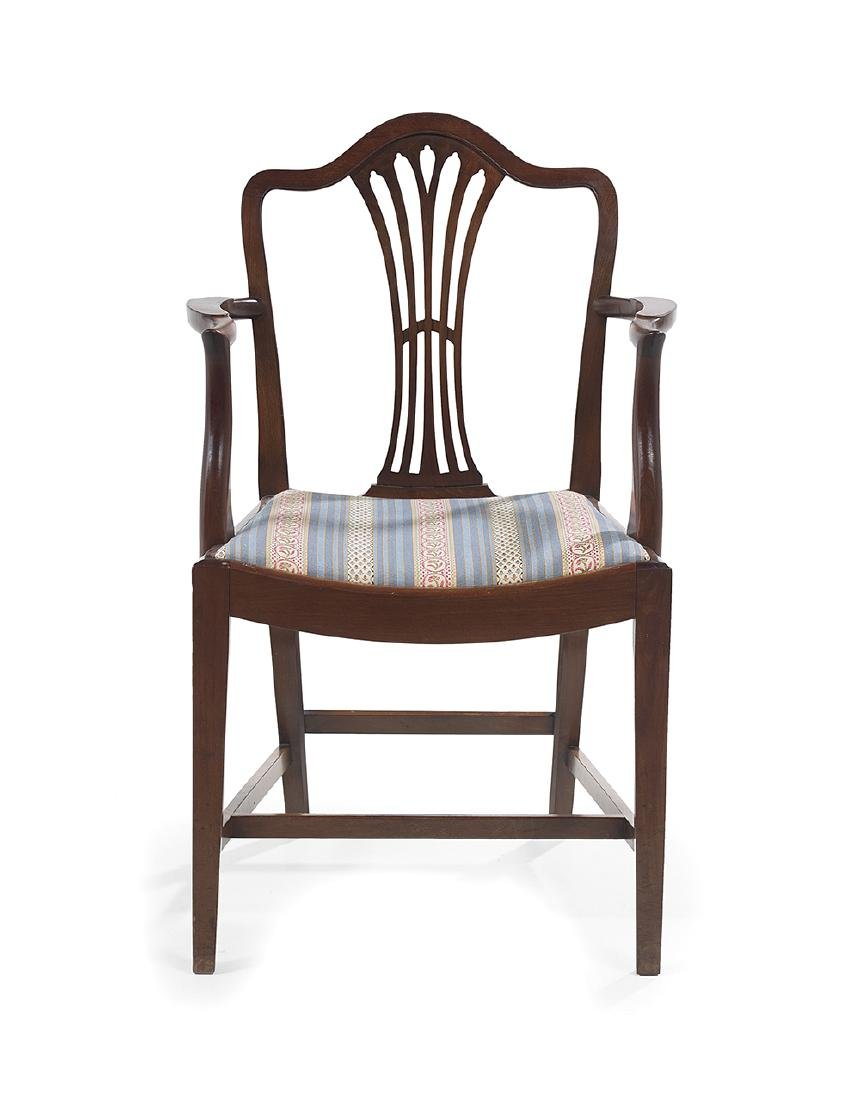 Suite of Twelve George III-Style Mahogany Dining Chairs - 2