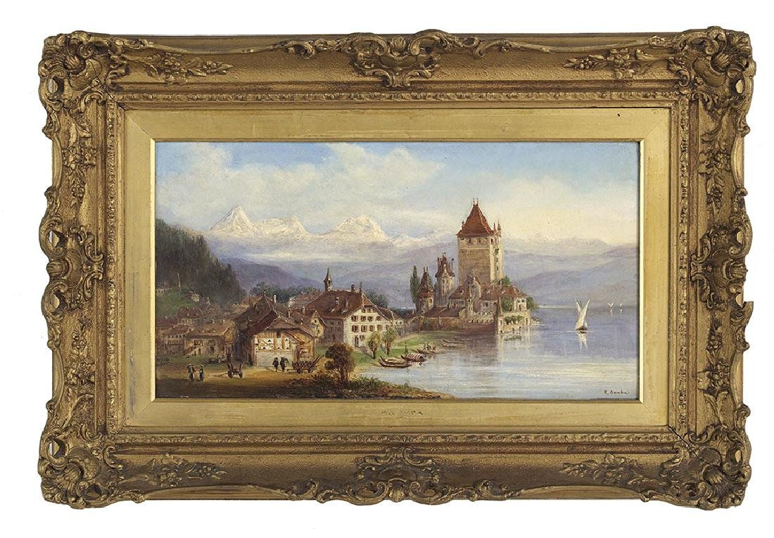 R. Domba, (Italian, Late 19th/Early 20th Century),