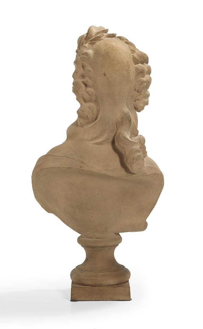 French Terracotta Bust of a Young Woman - 2