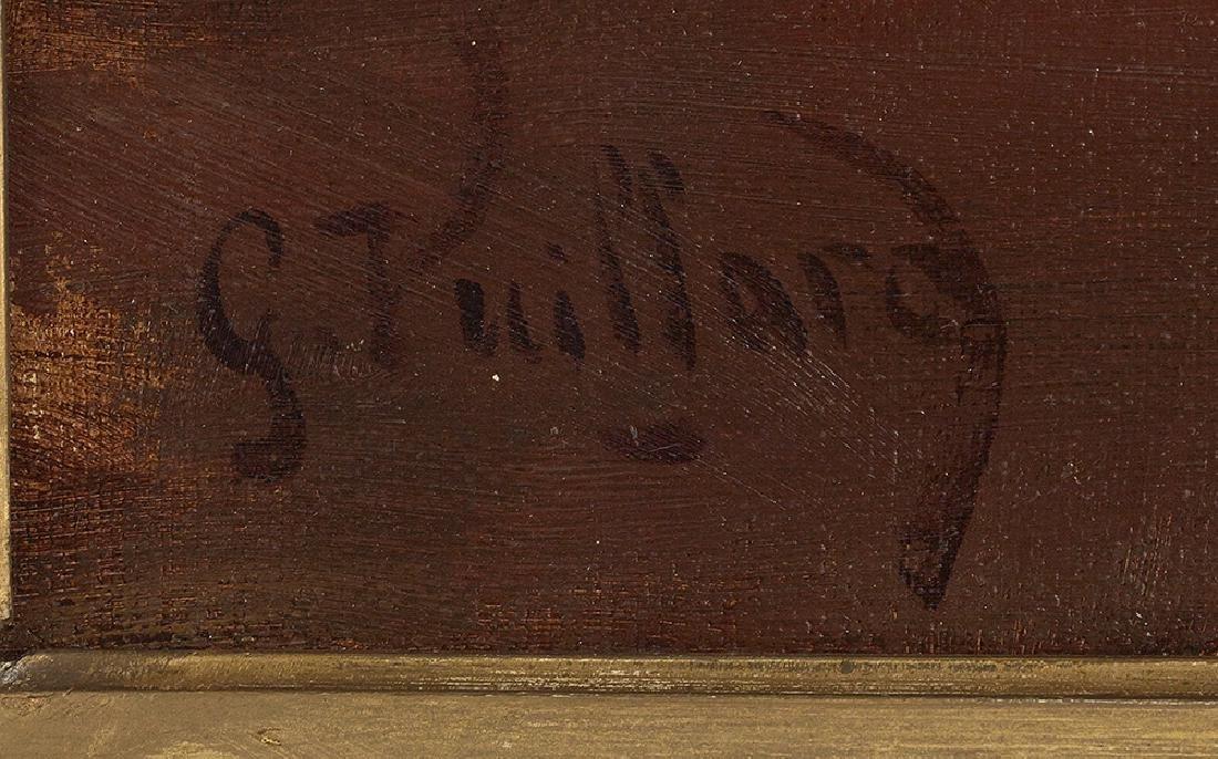 """George Vuillard, (French, b. 1956), """"The Banquet"""", oil - 2"""