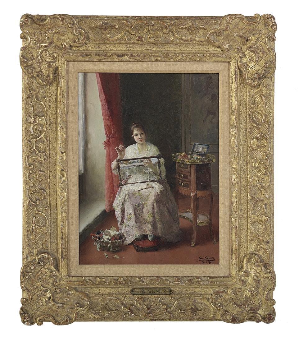 """Luis Jimenez y Aranda, (Spanish, 1845-1928), """"La"""