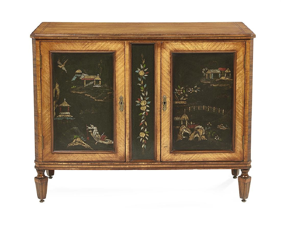 Continental Satinwood Cabinet