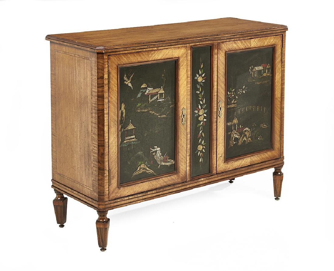 Continental Satinwood Cabinet - 2