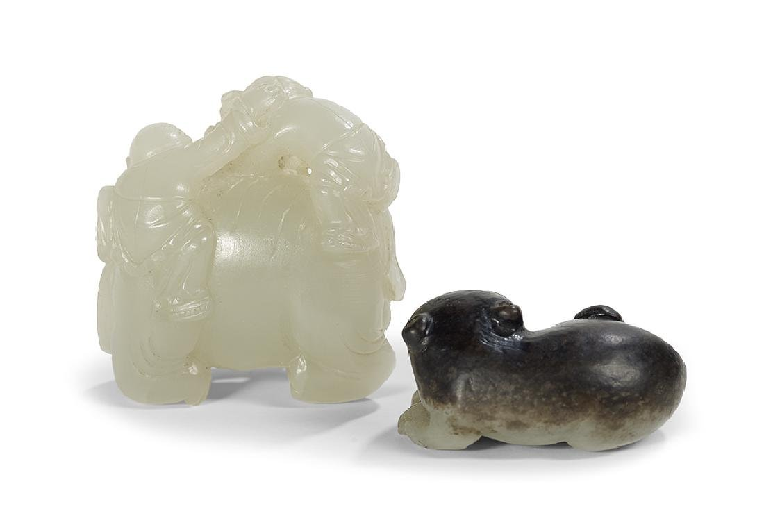 Two Chinese Nephrite Carvings - 2