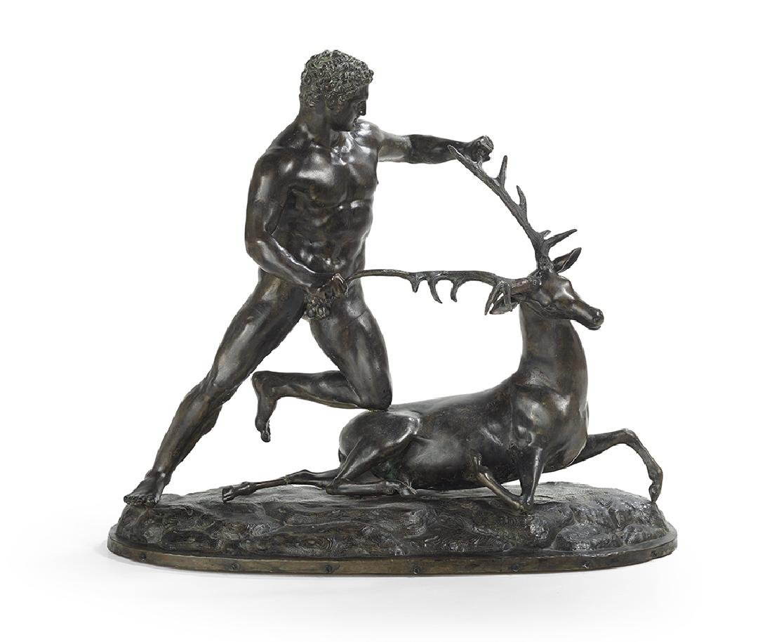 Bronze Figure of Hercules