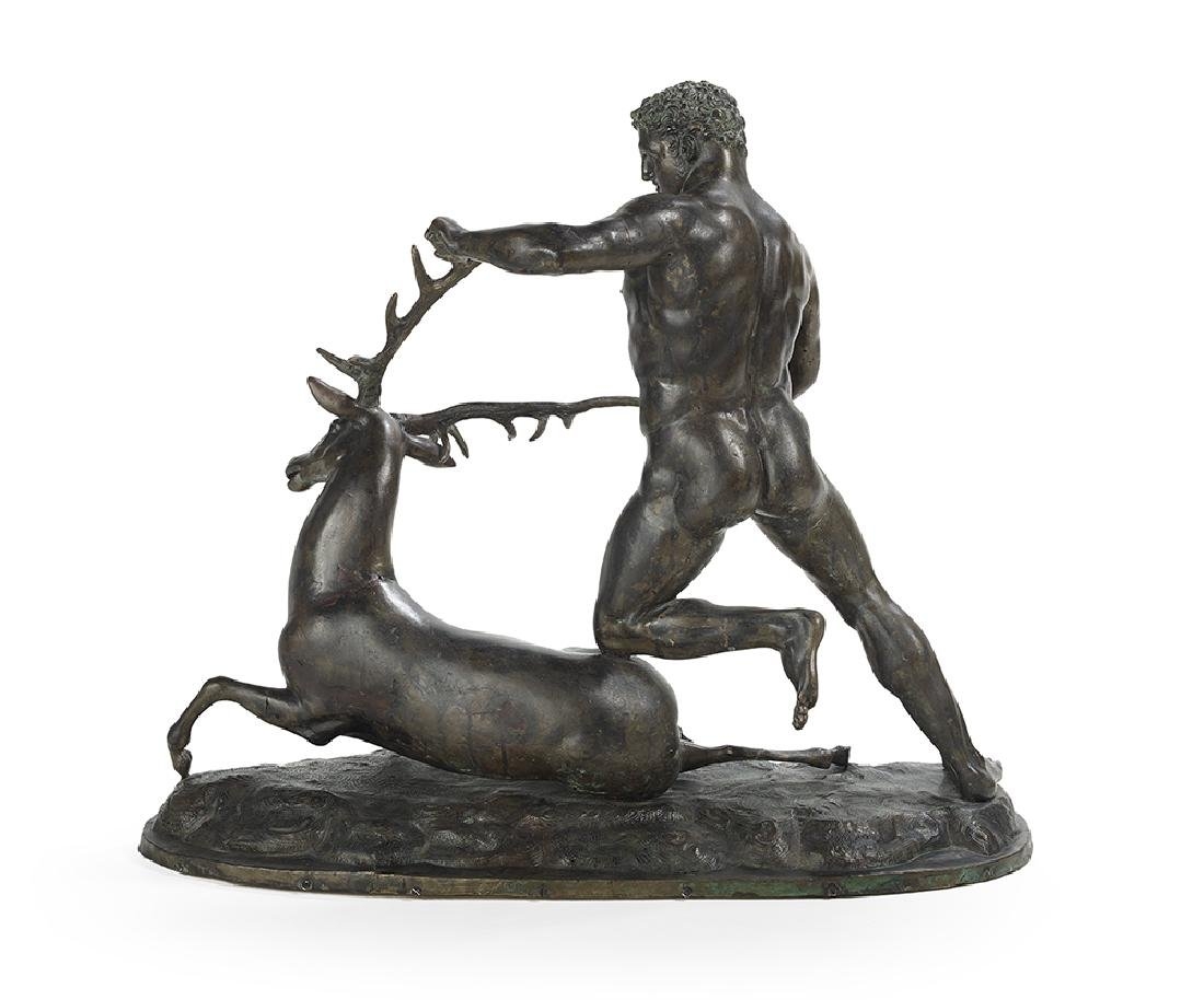 Bronze Figure of Hercules - 2