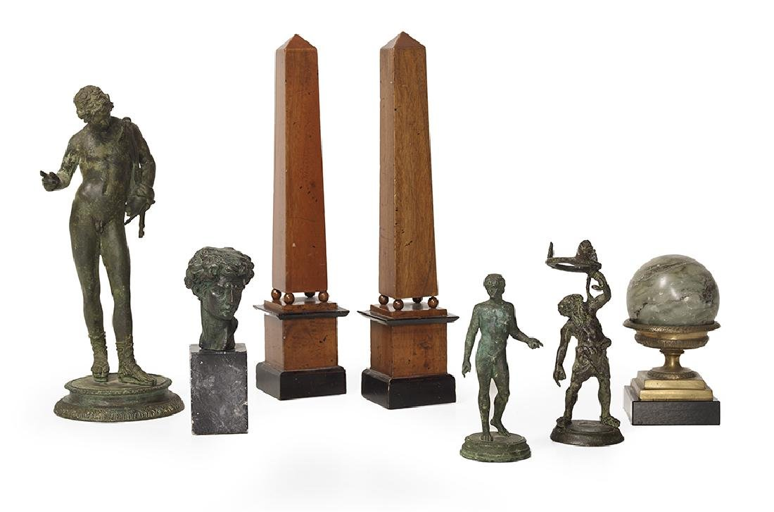 Seven-Piece Collection of Neoclassical Objets