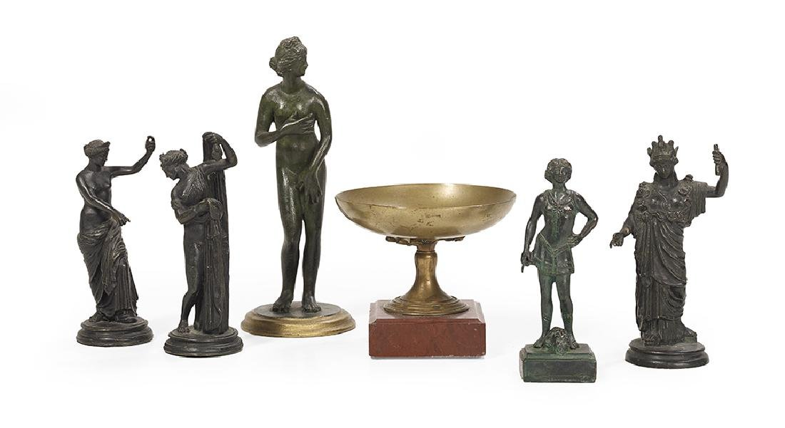 Six-Piece Collection of Grand Tour Objects