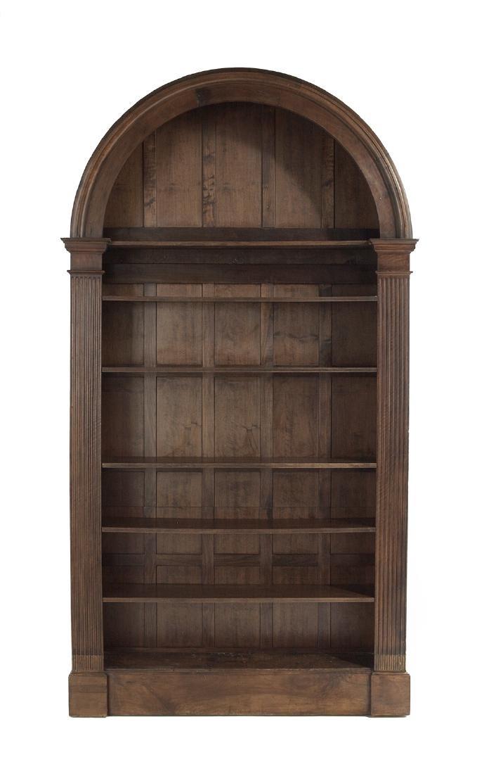 English Mahogany Bookcase