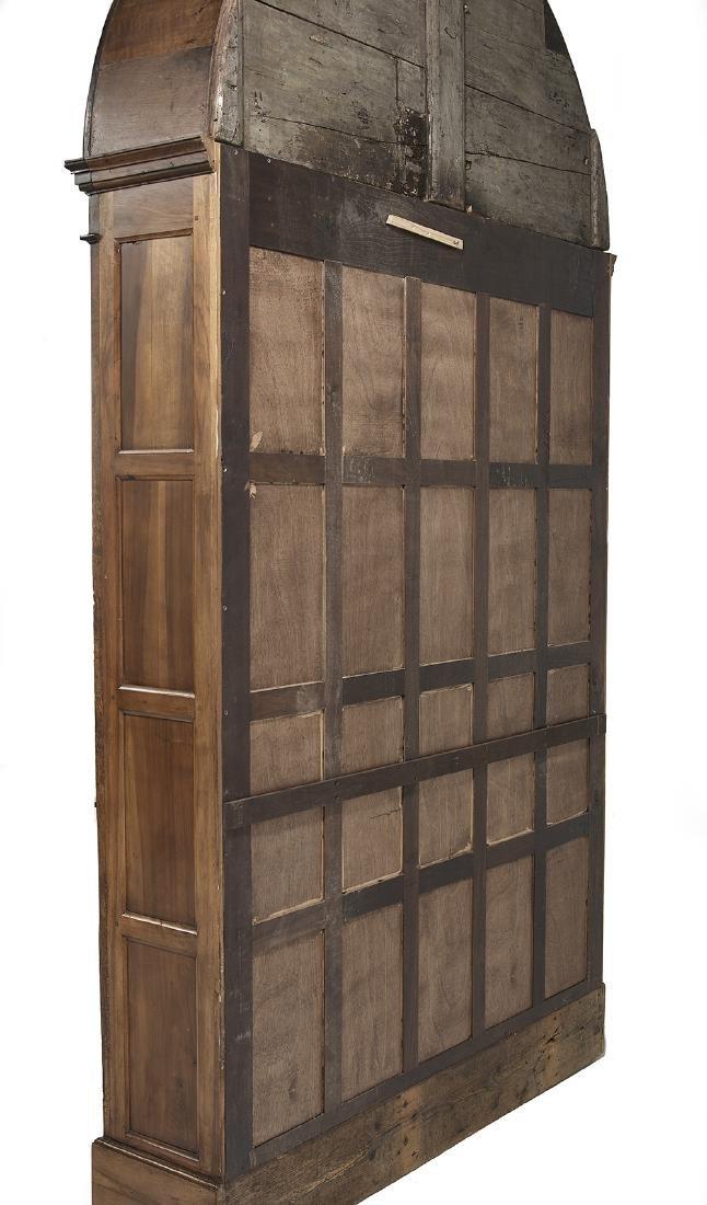 English Mahogany Bookcase - 2