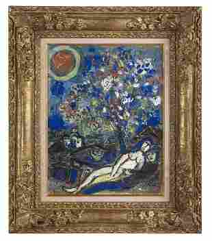 """Marc Chagall (Russian/French, 1887-1985), """"Le Bouquet"""