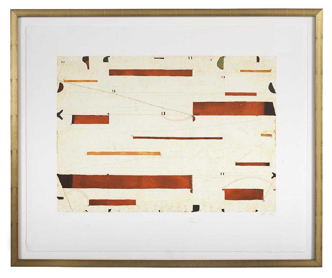 "Caio Fonseca, (American, b. 1959), ""Three String"