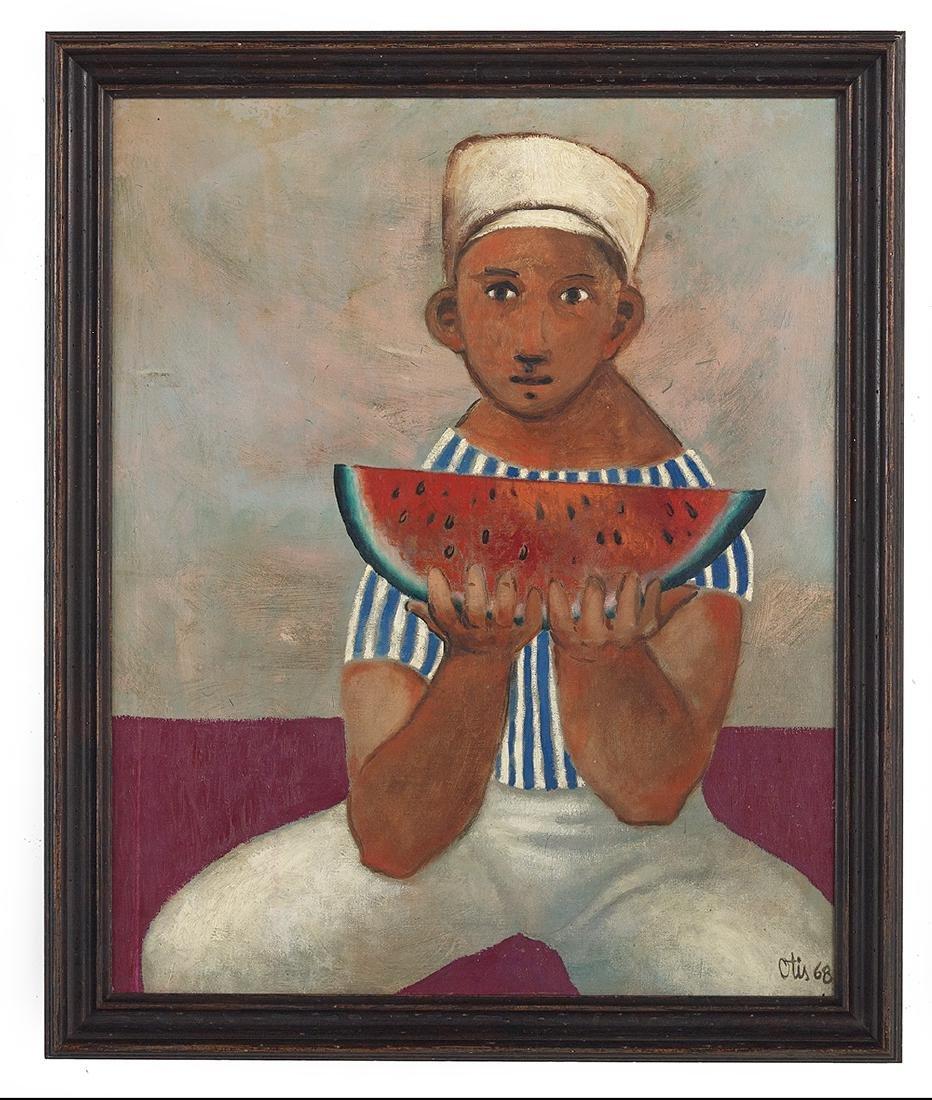 "Otis Dare Huband, Jr., (American/Texas, b. 1933), ""Boy"