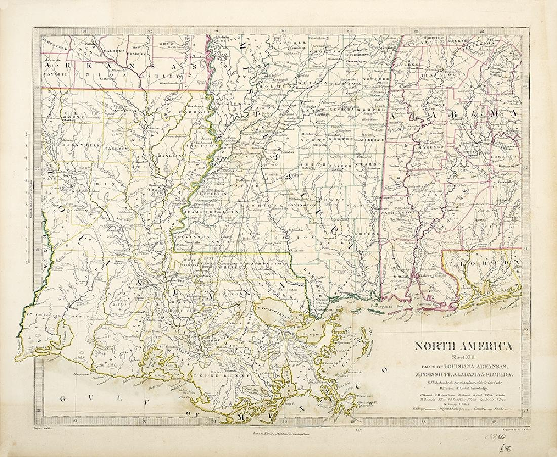 Four Important Maps of Louisiana and the American