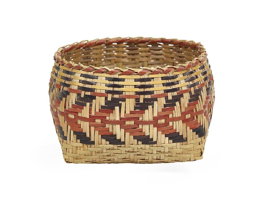 Small Chitimacha Indian River Cane Basket