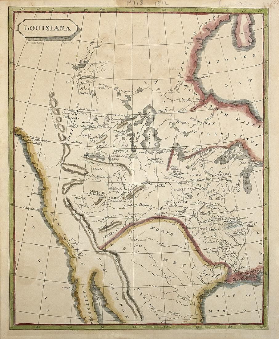 """""""Louisiana"""", Charted After the Lewis and Clark"""