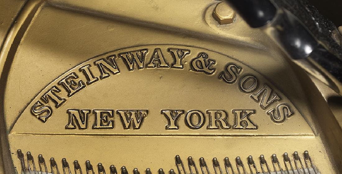 Steinway & Sons Model S Ebonized Baby Grand Piano and - 3